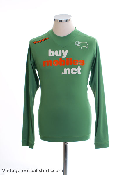 2012-13 Derby County Goalkeeper Shirt M