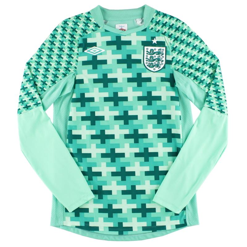 2012-13 England Goalkeeper Shirt S