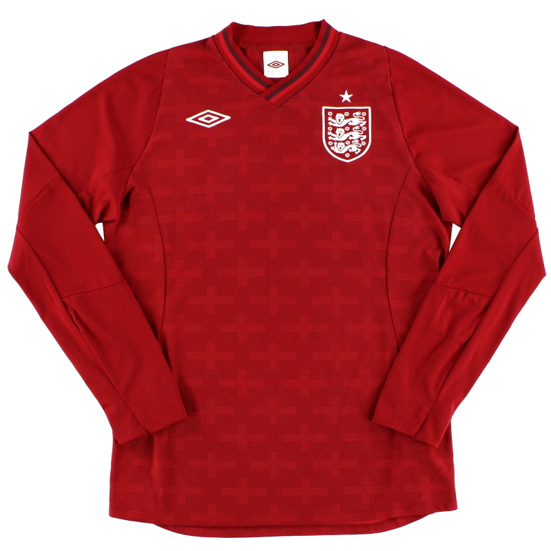 2012-13 England Goalkeeper Shirt L/S L