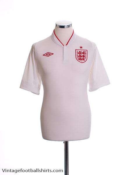 2012-13 England Home Shirt L