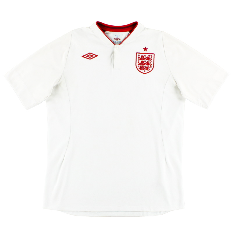 2012-13 England Home Shirt XS