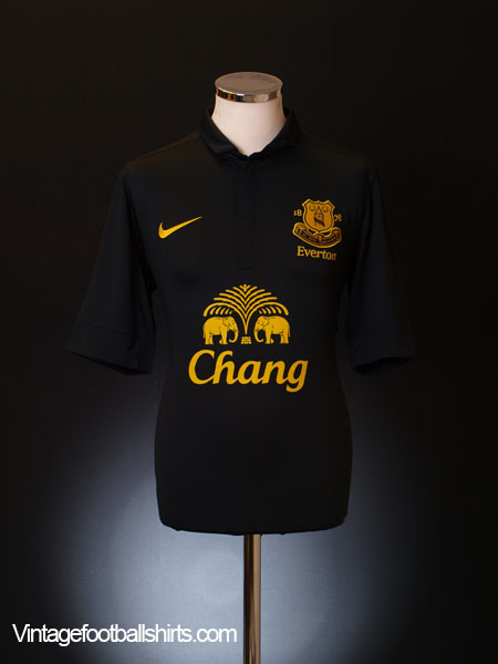2012-13 Everton Away Shirt *Mint* L