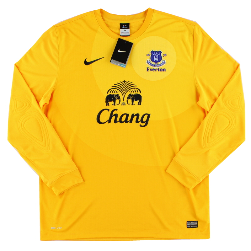2012-13 Everton Goalkeeper Away Shirt *BNWT* XL