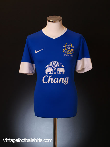 2012-13 Everton Home Shirt XL