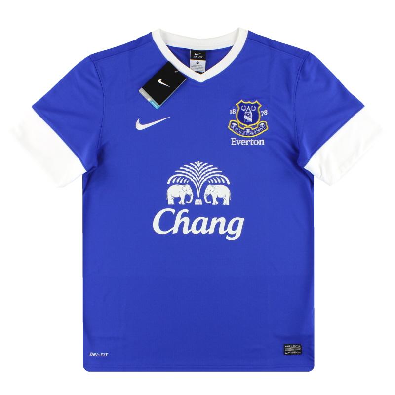2012-13 Everton Nike Home Shirt *w/tags* M - 510520-471