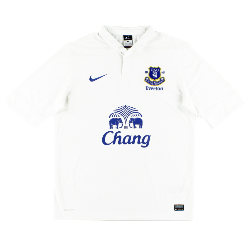 2012-13 Everton Third Shirt L