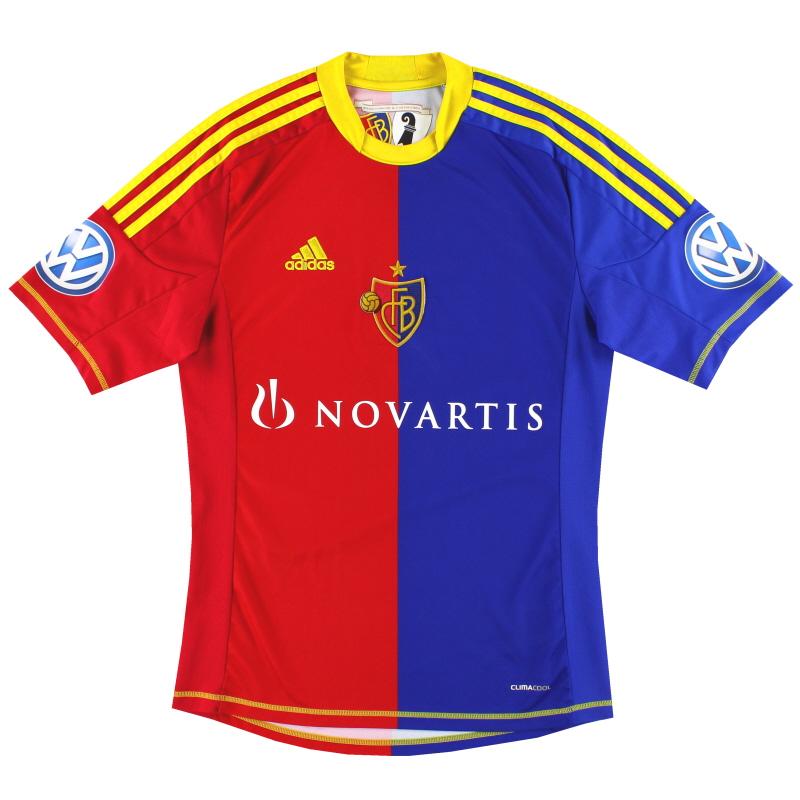 2012-13 FC Basel Home Shirt S - Z11281