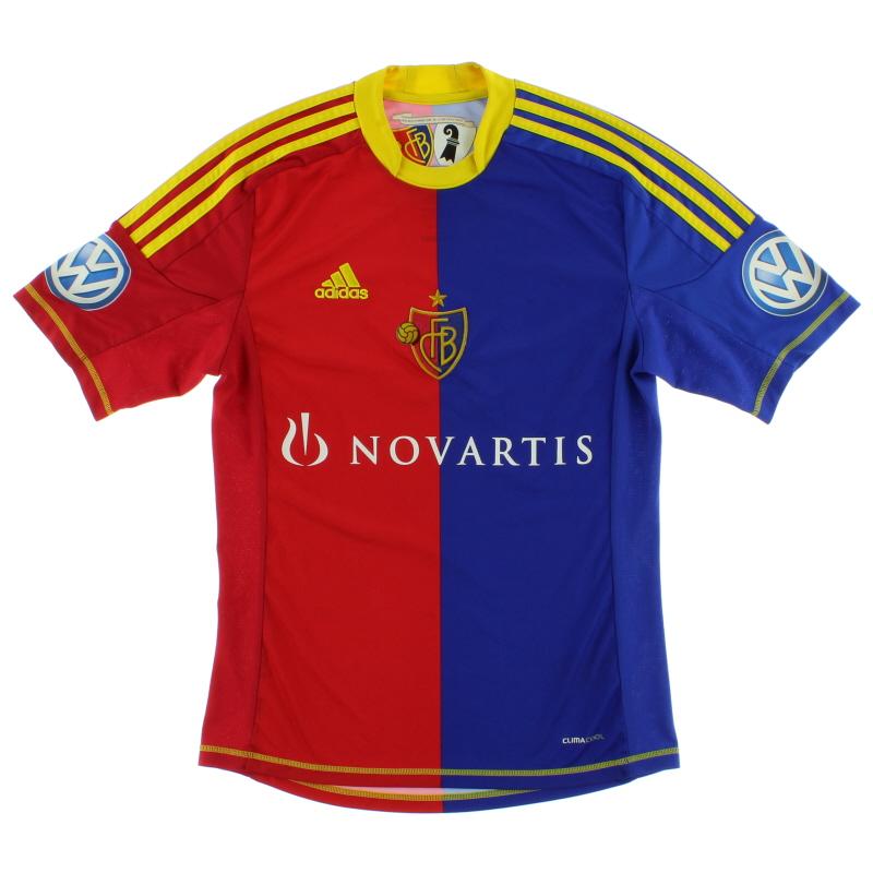 2012-13 FC Basel Home Shirt *Mint* XL - Z11281