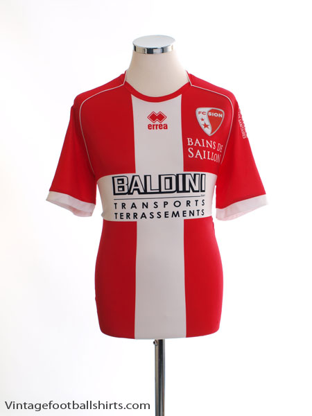 2012-13 FC Sion Away Shirt L