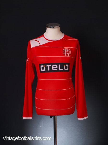 2012-13 Fortuna Dusseldorf Home Shirt L/S M