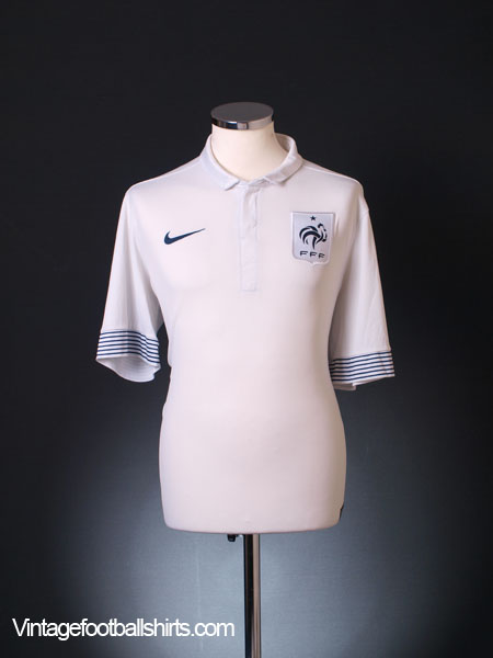 2012-13 France Away Shirt XL