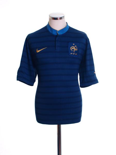 2012-13 France Home Shirt S