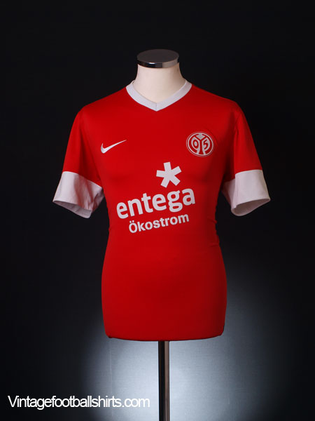 2012-13 FSV Mainz Home Shirt M