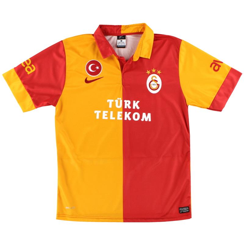 2012-13 Galatasaray Nike Home Shirt M