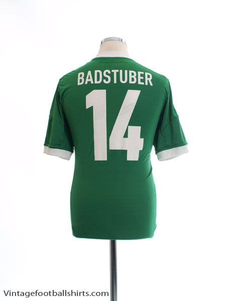 2012-13 Germany Away Shirt Badstuber #14 M - X21412