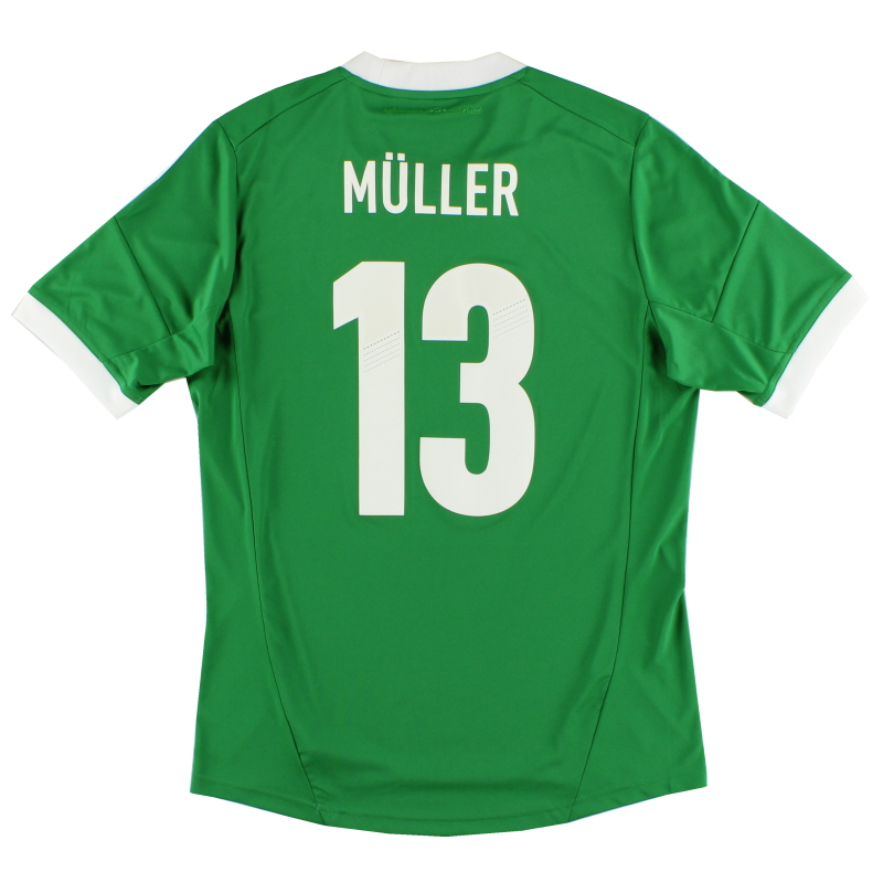 2012-13 Germany Away Shirt Muller #13 *Mint* M - X21412