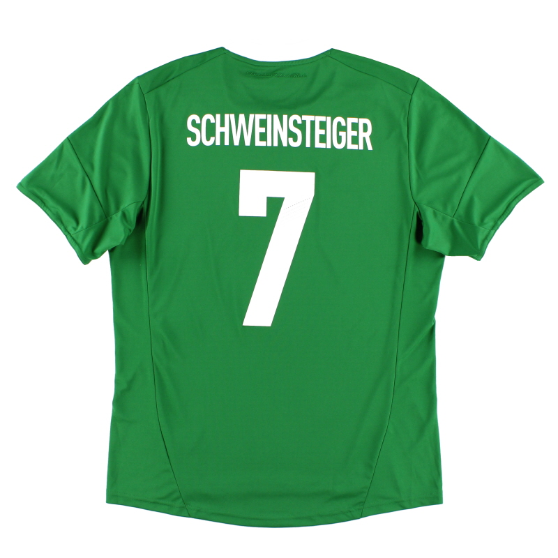 2012-13 Germany Away Shirt Schweinsteiger #7 L