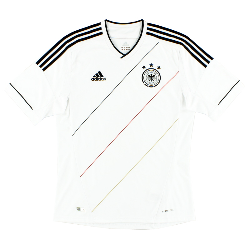 2012-13 Germany Home Shirt *Mint* XL