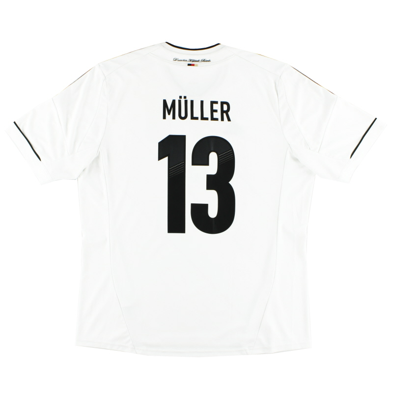 2012-13 Germany Home Shirt Muller #13 XXL - X20656