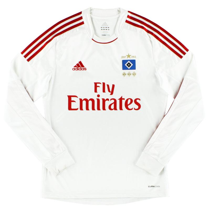 2012-13 Hamburg '125 Years' Home Shirt L/S S