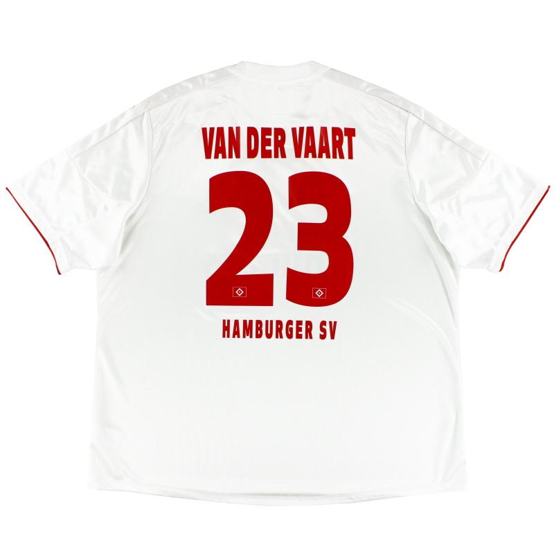 2012-13 Hamburg '125 Years' Home Shirt van der Vaart #23 XXXL - X21978