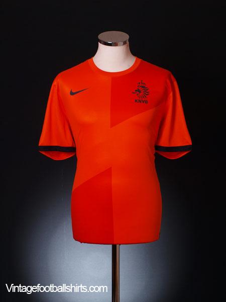 2012-13 Holland Home Shirt M