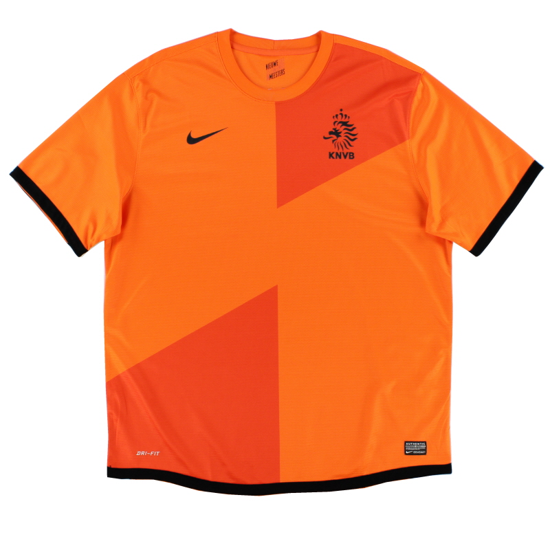 2012-13 Holland Nike Home Shirt *Mint* XL - 447289-815