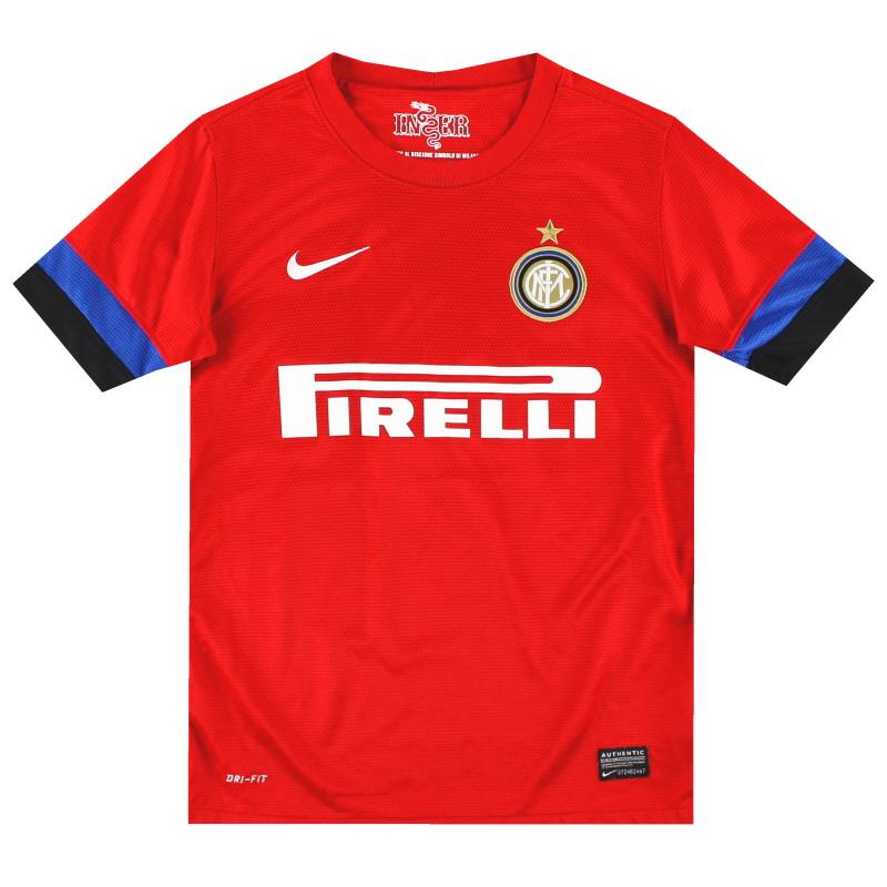 2012-13 Inter Milan Away Shirt M.Boys - 479318-603