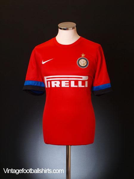 2012-13 Inter Milan Away Shirt *As New* L