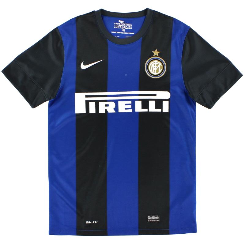 2012-13 Inter Milan Home Shirt S - 479315-010