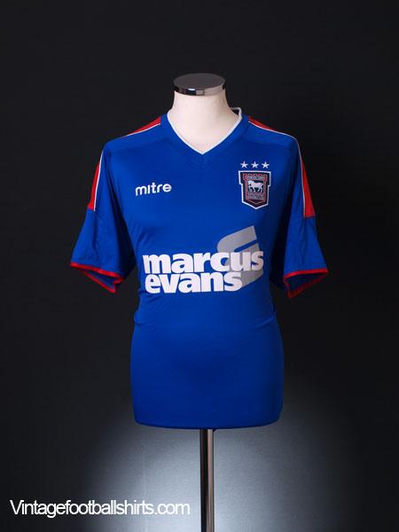 2012-13 Ipswich Home Shirt L