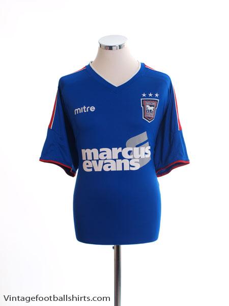 2012-13 Ipswich Home Shirt XL