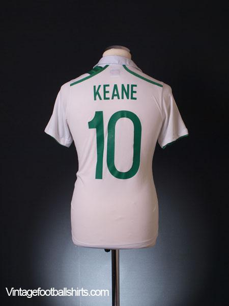 2012-13 Ireland Away Shirt Keane #10 M