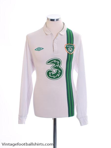 2012-13 Ireland Away Shirt L/S L