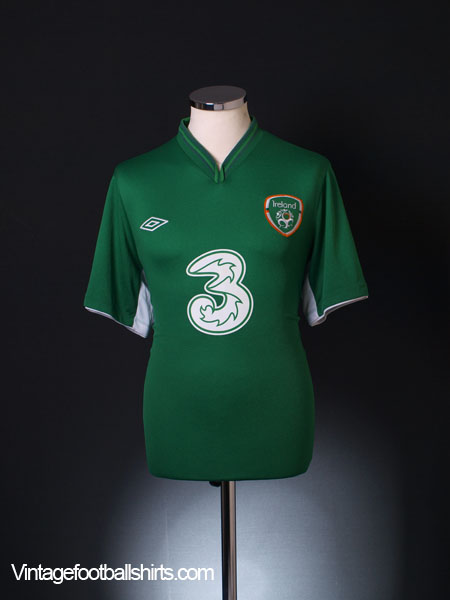 2012-13 Ireland Home Shirt L