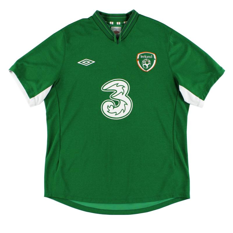 2012-13 Ireland Umbro Home Shirt S - 14804177