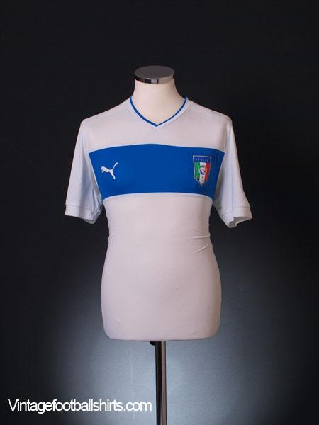 2012-13 Italy Away Shirt M
