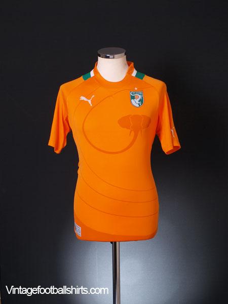 2012-13 Ivory Coast Home Shirt S