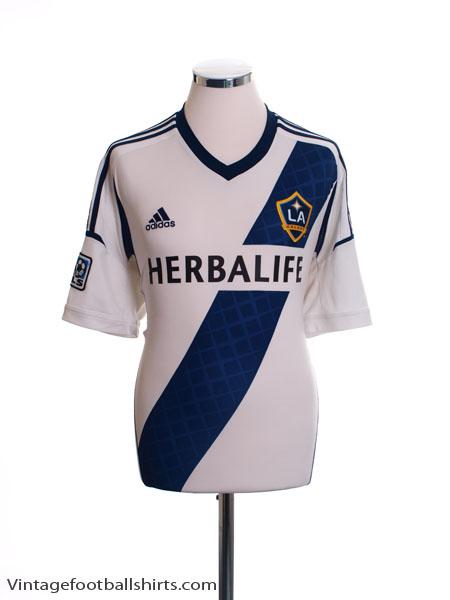 2012-13 LA Galaxy Home Shirt L
