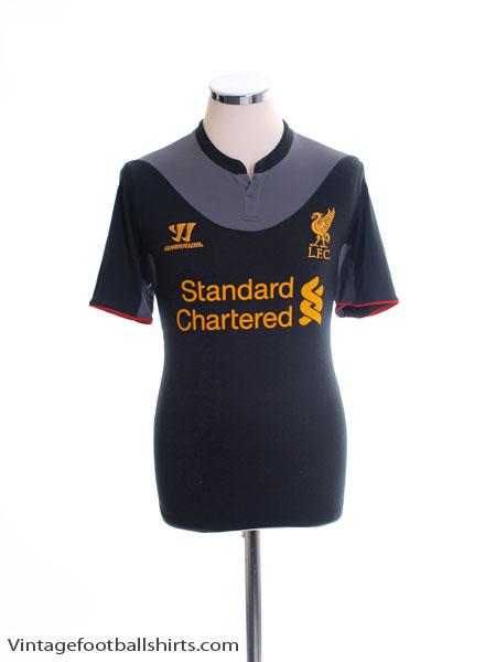 2012-13 Liverpool Away Shirt S