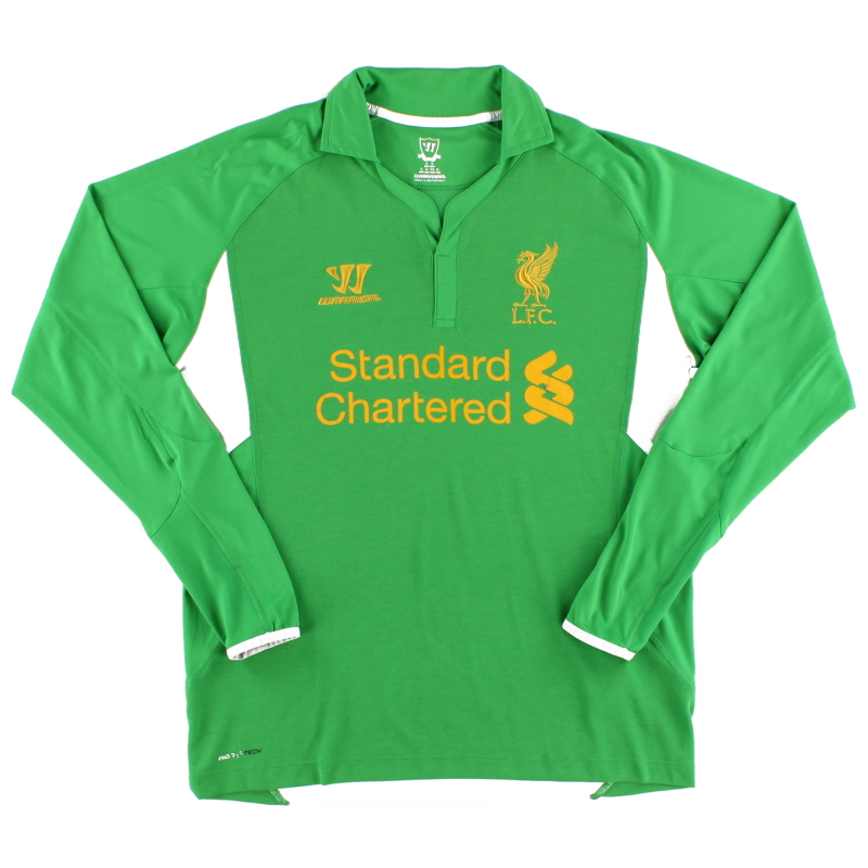 2012-13 Liverpool Goalkeeper Shirt S