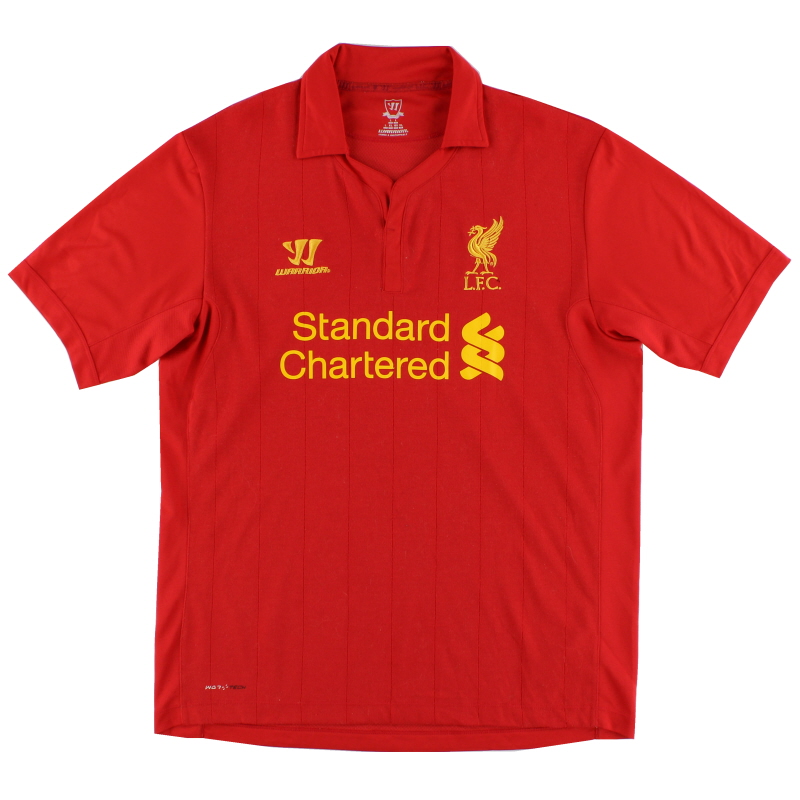 2012-13 Liverpool Home Shirt XL - WSTM200