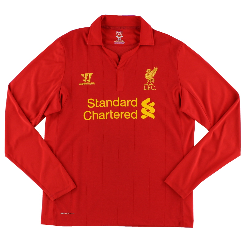 2012-13 Liverpool Home Shirt L/S S