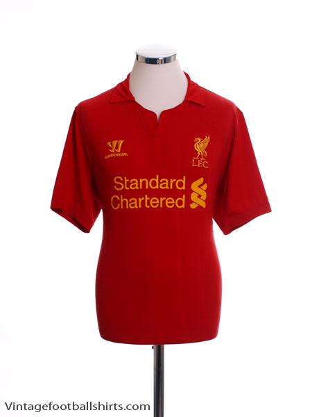 2012-13 Liverpool Home Shirt M