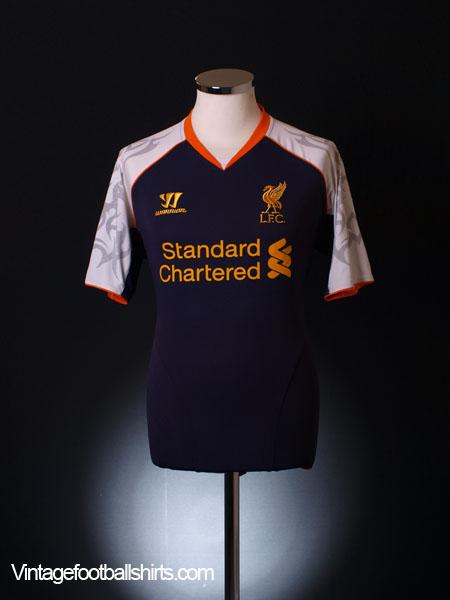 2012-13 Liverpool Third Shirt XXL