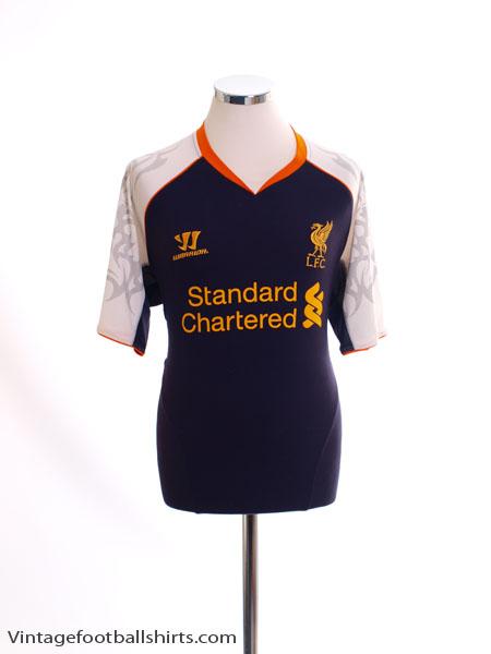 2012-13 Liverpool Third Shirt L