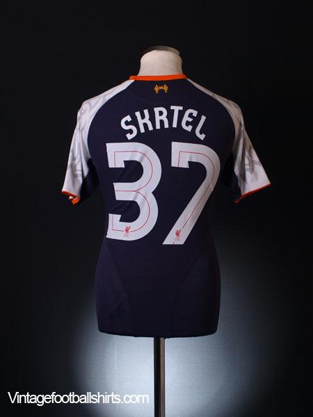 2012-13 Liverpool Third Shirt S