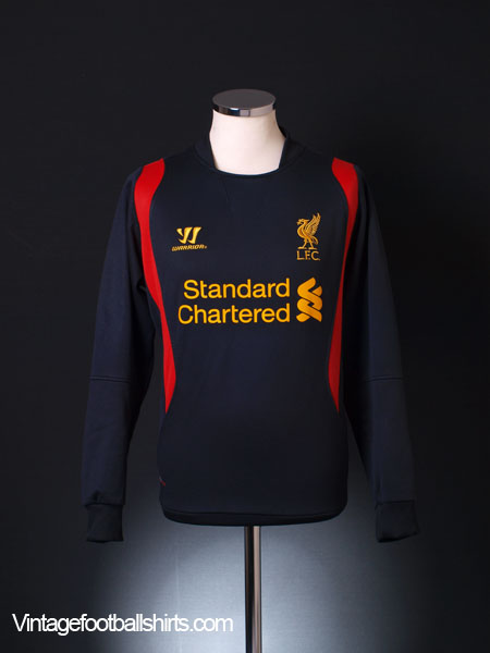 2012-13 Liverpool Training Jumper L/S L