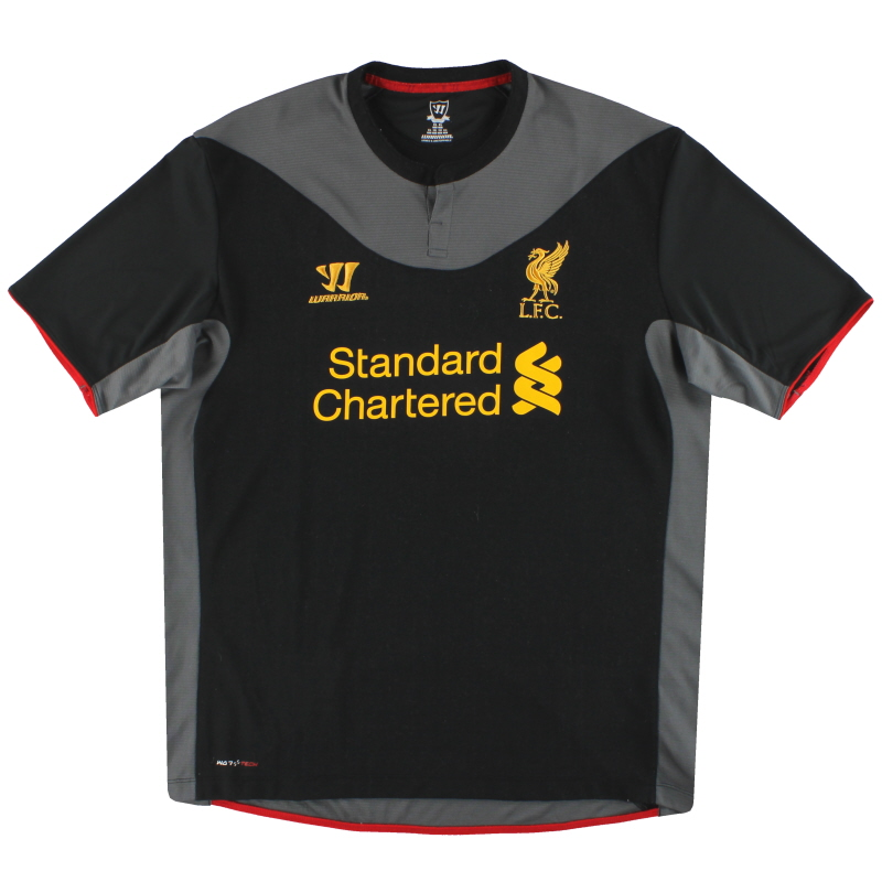 2012-13 Liverpool Warrior Away Shirt XL - WSTM204