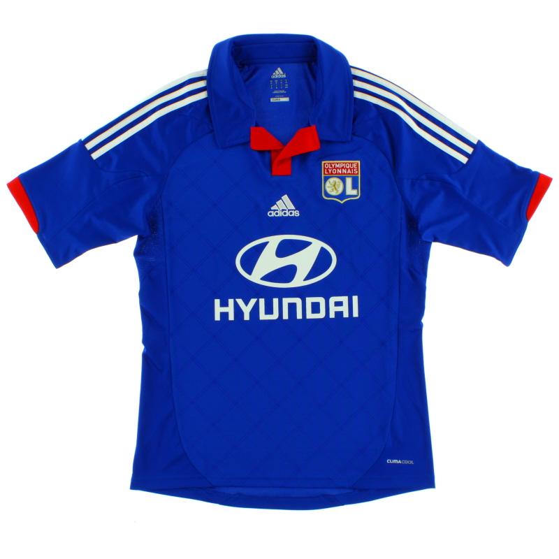2012-13 Lyon Away Shirt *Mint* M - X24251